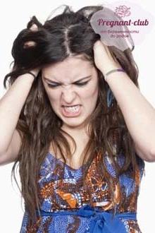 приступ раздражения у женщины