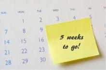 на календаре 5 неделя