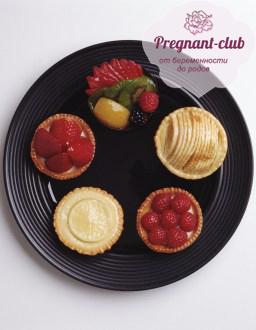 В тарелке полезные продукты