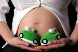 беременный живот